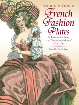 (ebook) Eighteenth-Century French Fashion Plates in Full Color