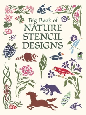 (ebook) Big Book of Nature Stencil Designs