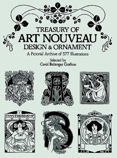 Treasury of Art Nouveau Design and Ornament