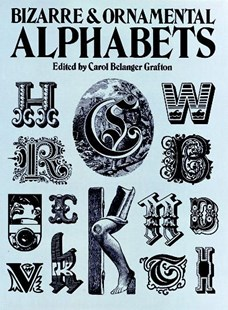 Bizarre and Ornamental Alphabets by CAROL BELANGER GRAFTON (9780486241050) - PaperBack - Art & Architecture Art Technique