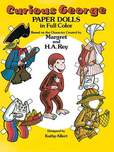Curious George Paper Dolls