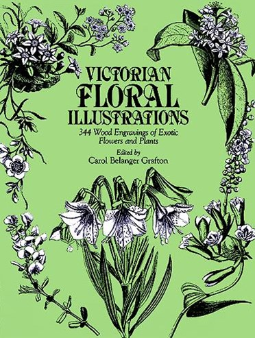 Victorian Floral Illustrations