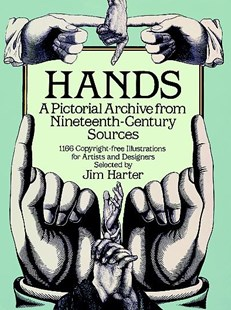 Hands by JIM HARTER (9780486249599) - PaperBack - Art & Architecture Art History