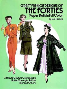 Great Fashion Designs of the Forties Paper Dolls by TOM TIERNEY (9780486253862) - PaperBack - Non-Fiction Art & Activity