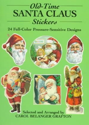 Old-Time Santa Claus Stickers