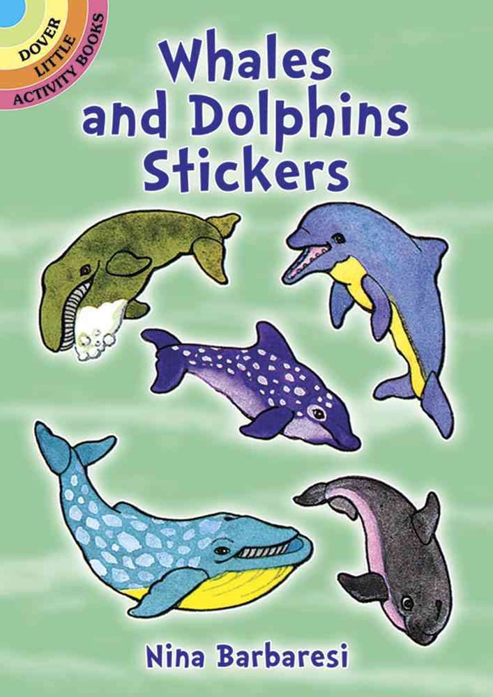 Whales and Dolphins Stickers
