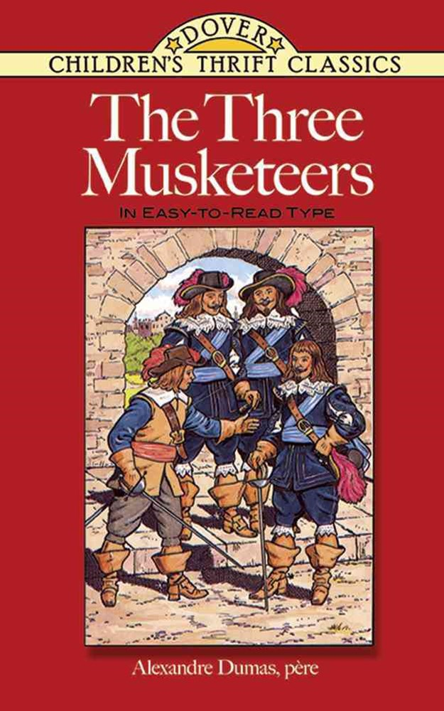 Three Musketeers: In Easy To Read Type