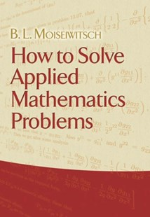 (ebook) How to Solve Applied Mathematics Problems - Science & Technology Mathematics