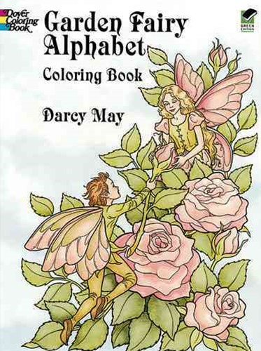 Garden Fairy Alphabet Coloring Book