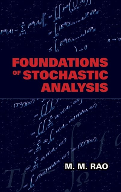 (ebook) Foundations of Stochastic Analysis