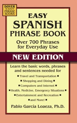 (ebook) Easy Spanish Phrase Book NEW EDITION