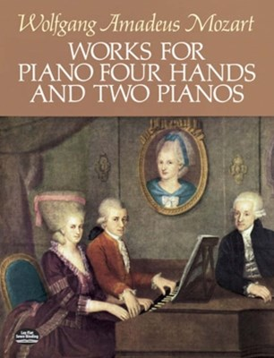 (ebook) Works for Piano Four Hands and Two Pianos