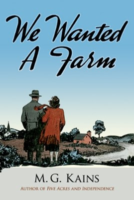 (ebook) We Wanted a Farm