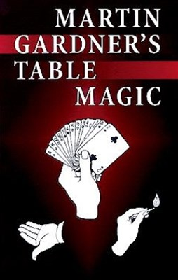 (ebook) Martin Gardner's Table Magic