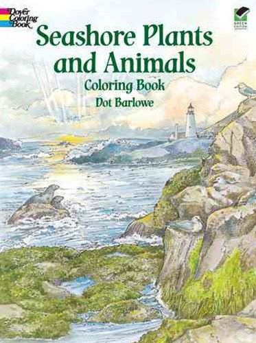 Seashore Plants and Animals Coloring Book