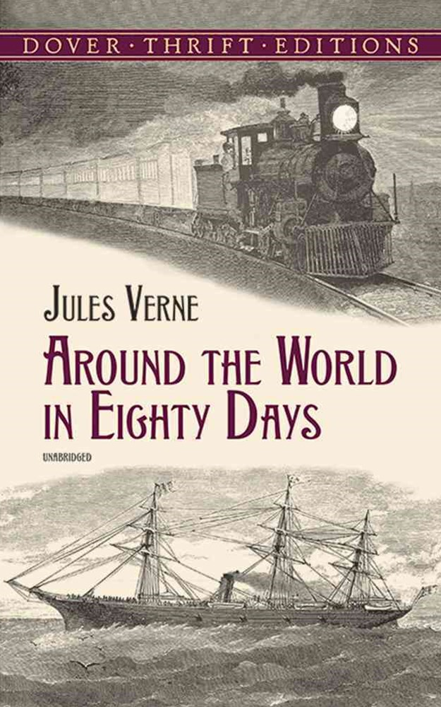 Around the World in Eighty Days (Blue)