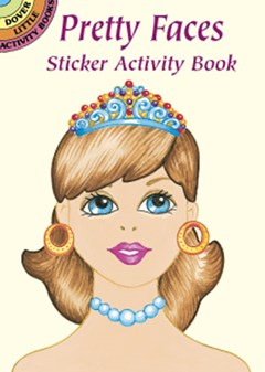 Pretty Faces Sticker Activity Book