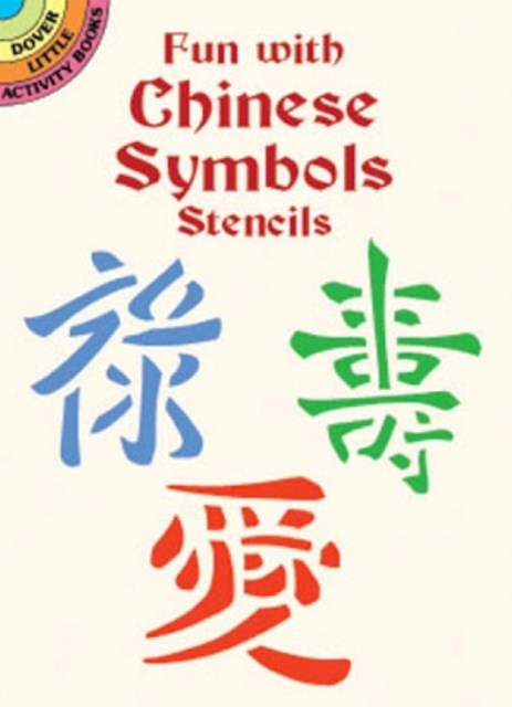 Fun with Chinese Symbols Stencils