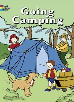 Going Camping Colouring