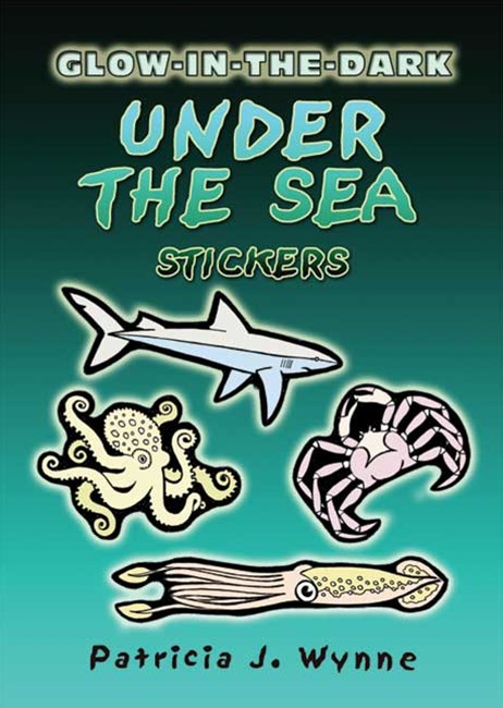 Glow-in-the-Dark Under the Sea Stickers