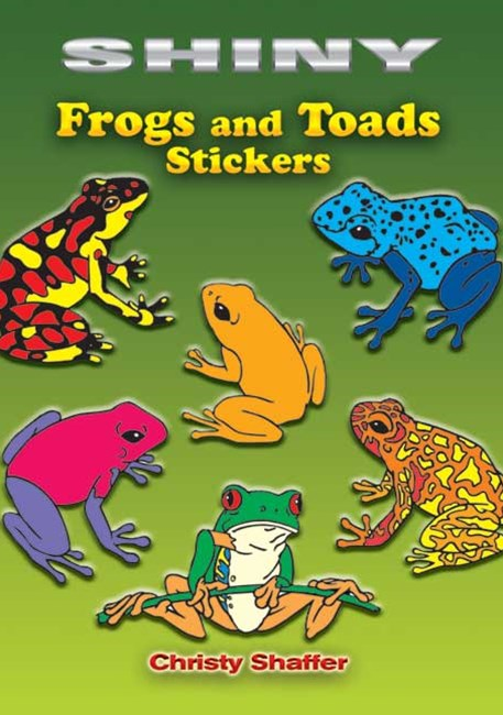Shiny Frogs and Toads Stickers