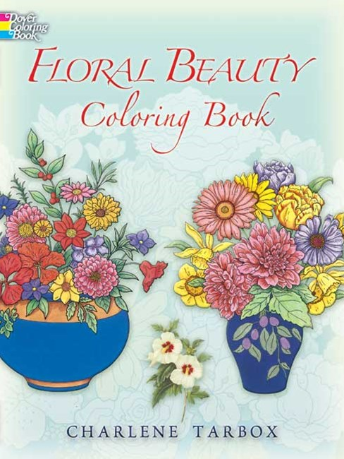 Floral Beauty Coloring Book