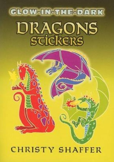 Glow-in-the-Dark Dragons Stickers