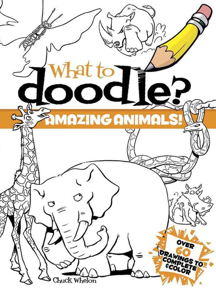 What to Doodle? Amazing Animals!