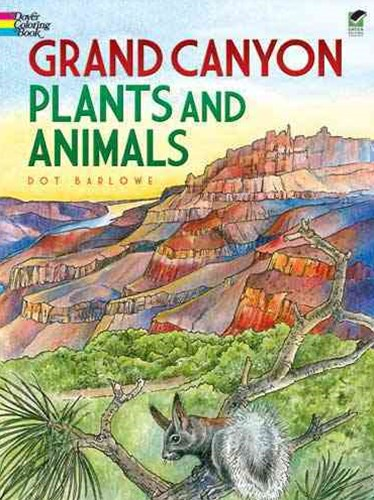 Grand Canyon Plants and Animals Coloring Book
