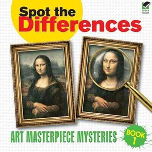 Spot the Differences Book 1 by DOVER, Susan L. Rattiner (9780486472997) - PaperBack - Non-Fiction Art & Activity