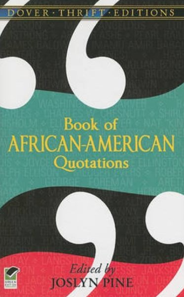 Book of African American Quotations