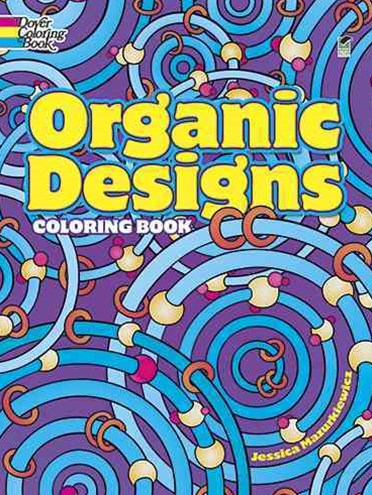 Organic Designs Coloring Book