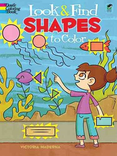 Look and Find Shapes to Color