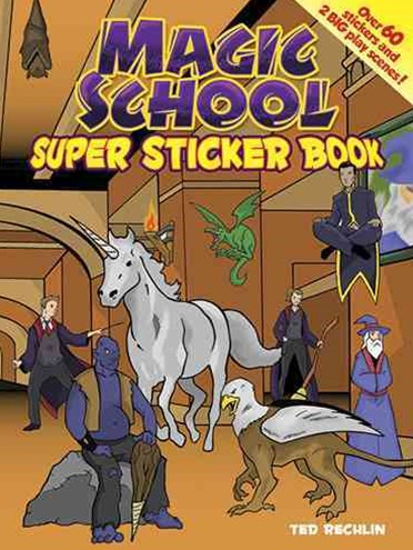 Magic School Super Sticker Book
