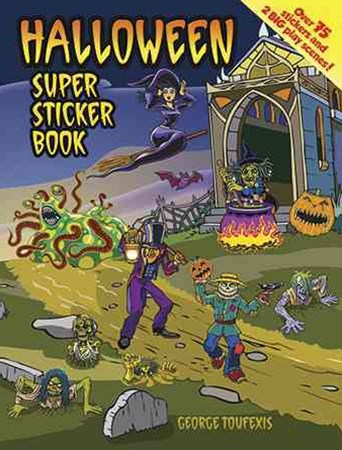 Halloween Super Sticker Book