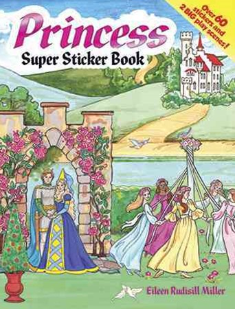 Princess Super Sticker Book