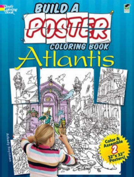 Build a Poster Coloring Book--Atlantis