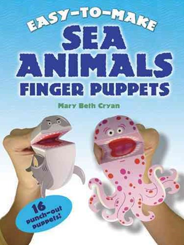 Easy-to-Make Sea Animals Finger Puppets