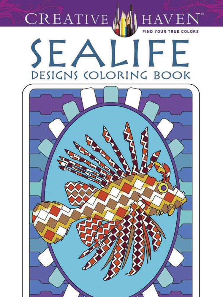 Creative Haven Sealife Designs Coloring Book