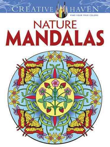 Creative Haven Nature Mandalas Coloring Book