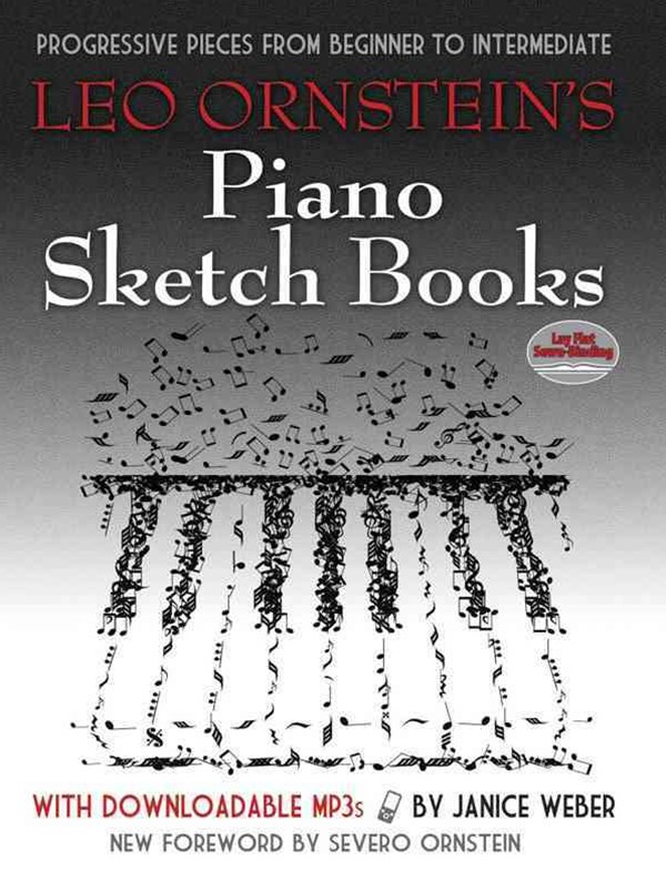 Leo Ornstein's Piano Sketch Books with Downloadable MP3s