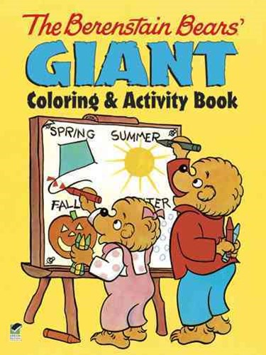 Berenstain Bears' Giant Coloring and Activity Book