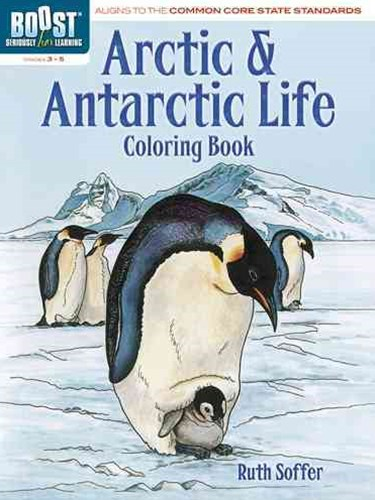 BOOST Arctic and Antarctic Life Coloring Book