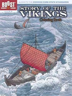 BOOST Story of the Vikings Coloring Book