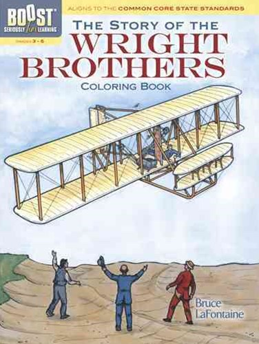 BOOST The Story of the Wright Brothers Coloring Book