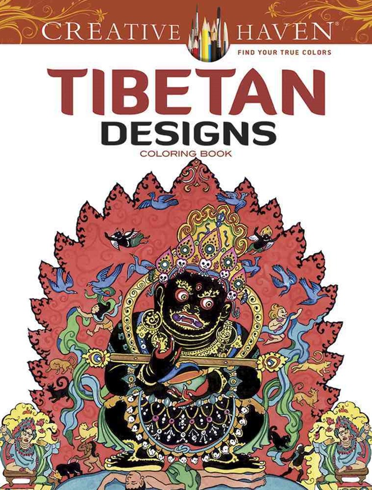 Creative Haven Tibetan Designs Coloring Book