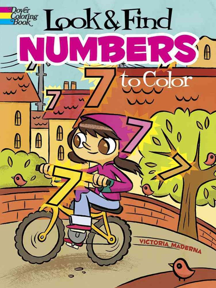 Look and Find Numbers to Color