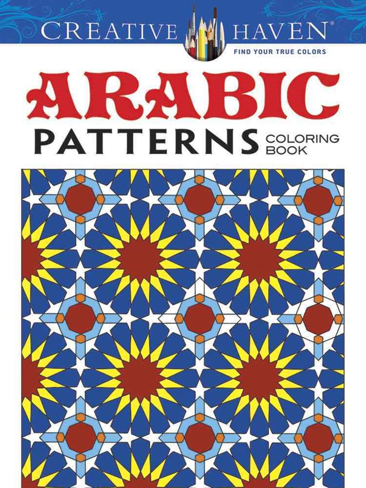 Creative Haven Arabic Patterns Coloring Book