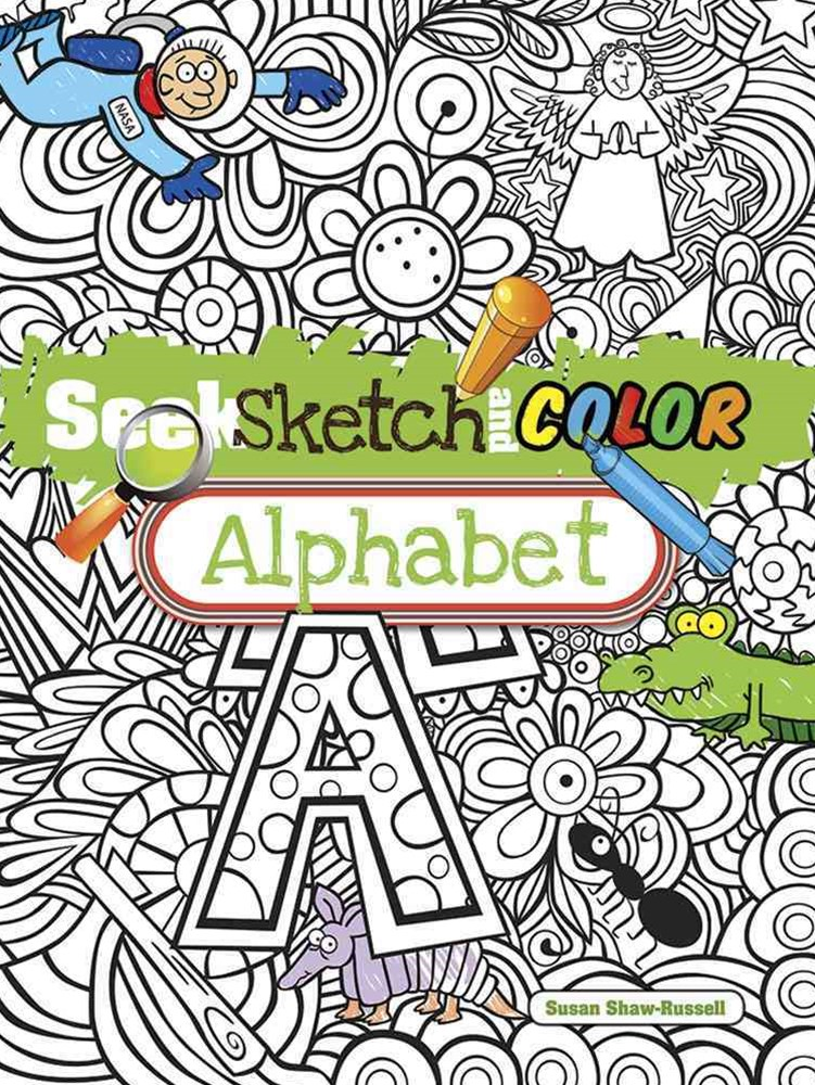 Seek, Sketch and Color -- Alphabet