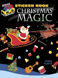 3-D Sticker Book--Christmas Magic